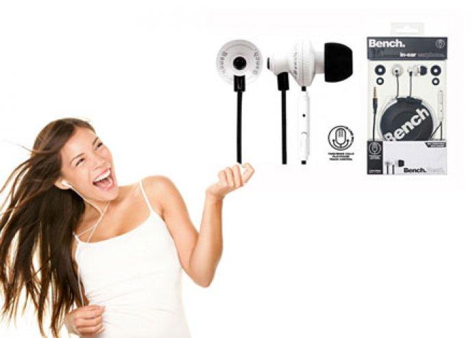 Bench Beat Rhythm fülhallgató és egyben headset, bármely készüléktípushoz