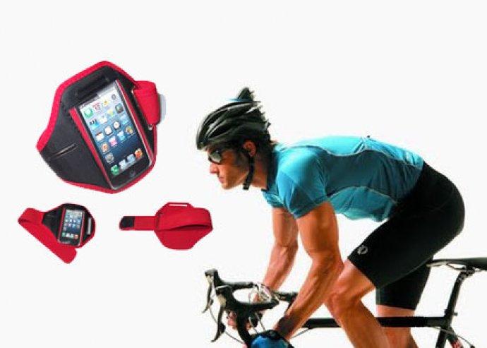 Karra erősíthető, vízálló telefontartó tok, választható színekben-sportolókra szabva