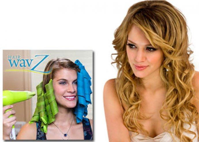 Hair Wavz forradalmi hajcsavaró készlet többféle hullám variációval