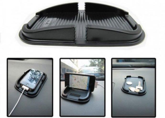 Tudd biztonságban telefonodat! Univerzális csúszásgátló autós mobiltartó!