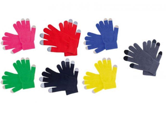 Hasznos lehet a hidegben a 7 színben kapható, egy méretű, uniszex kapacitív rezisztív kesztyű!