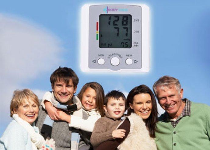 Rendkívül egyszerűen használható, automata, digitális csukló vérnyomásmérő, nagy LCD kijelzővel