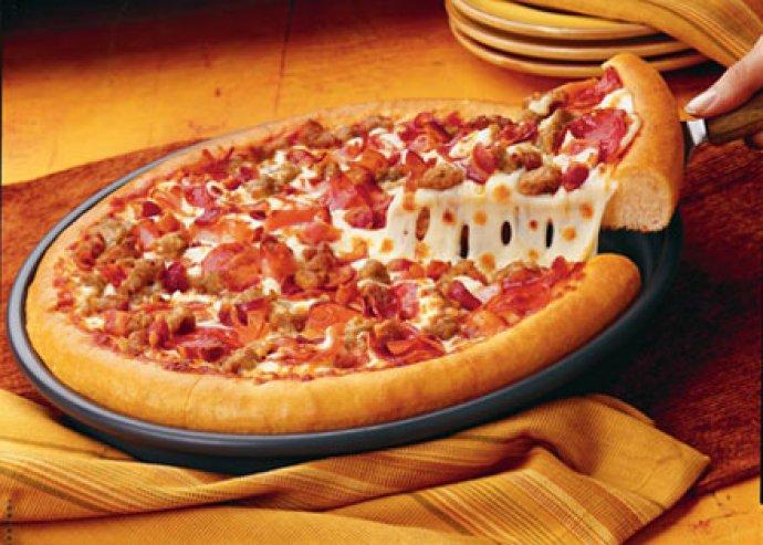 Rád is vár Itália, válaszható 32 cm-es pizza a Bakterház Bisztróban