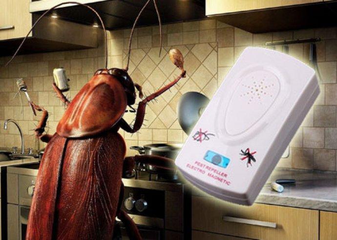 Hatékony megoldás a rovarok ellen - ultrahangos rovarirtó- és rágcsálóriasztó készülék