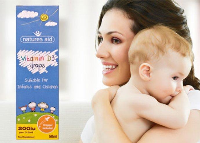 D3-vitamin cseppek a csontok, és legfőképpen az újszülöttek, gyermekek csontjainak egészségéért