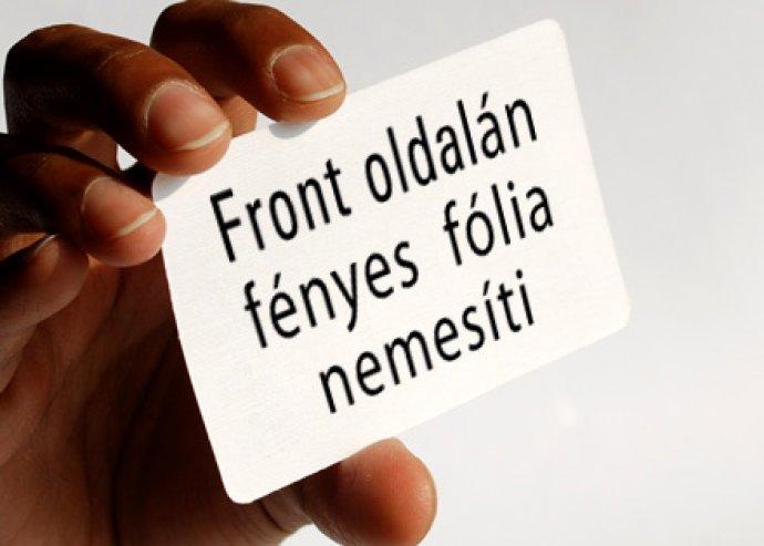 Egyedi kártya a Te arculatoddal - Kedvezményes Business Card a Solvingteam- től