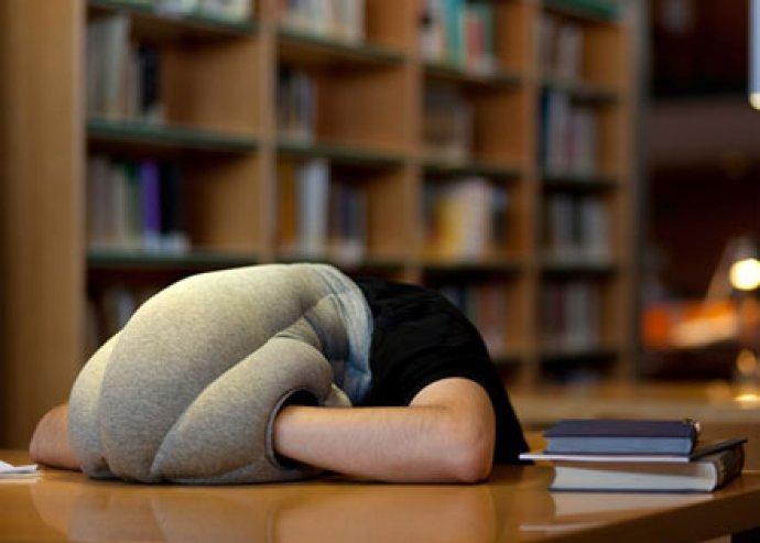 Pihentető alvás - különleges, ergonomikus kialakítású, csodás menedéket nyújtó Strucc párna
