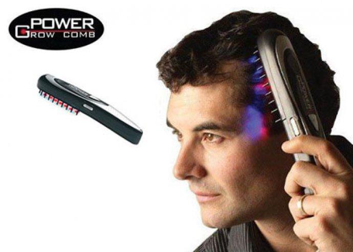 Egészséges és dús hajkoronát szeretnél? A Power Grow Comb hajnövesztő lézerfésű most meggátolja a hajhullásod!