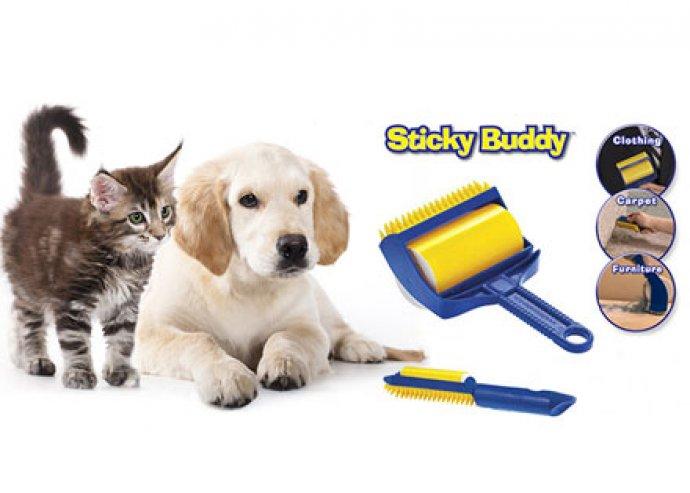 Takarítás mesterfokon - fantasztikus, 2 db-os Sticky Buddy tisztítóhenger készlet