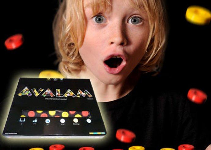 Izgalom, élmény, szórakozás - Avalam logikai fejlesztő, stratégiai társasjáték