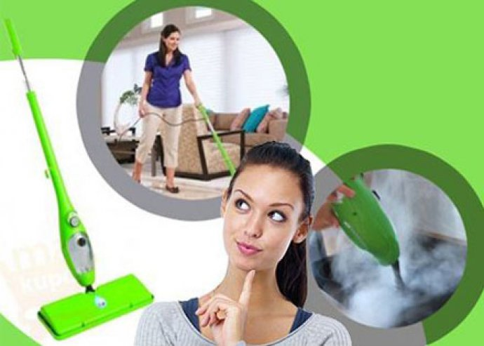 Professzionális, többfunkciós, gyorsan, egyszerűen használható, otthoni gőzölős takarítógép