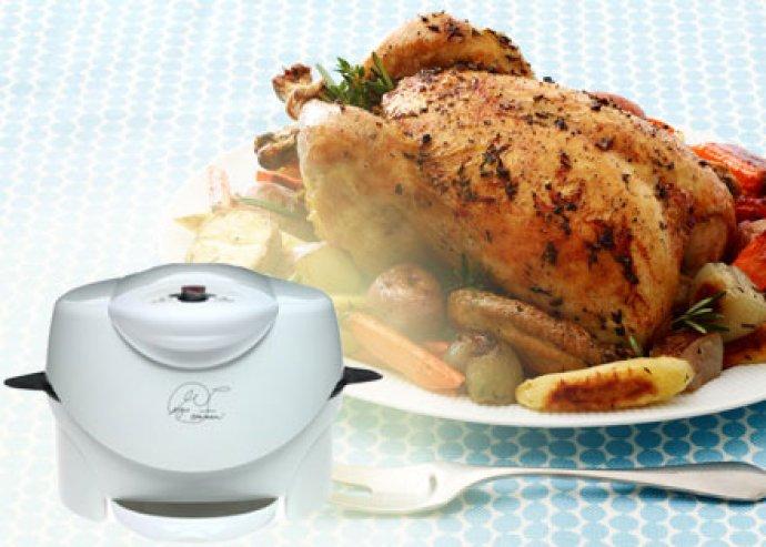 Könnyen tisztítható, tapadásmentes bevonatú elektromos grill automata hőmérséklet-szabályozóval