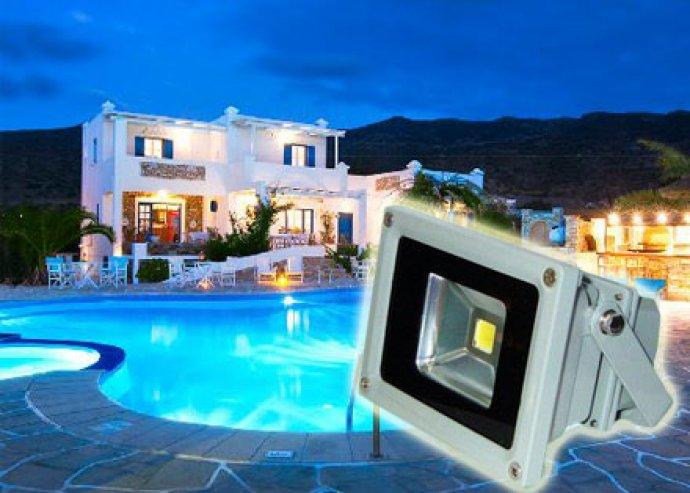 Nagy fényerő, hosszú élettartam - erős fényű SMD led fényvető, 10W fogyasztással