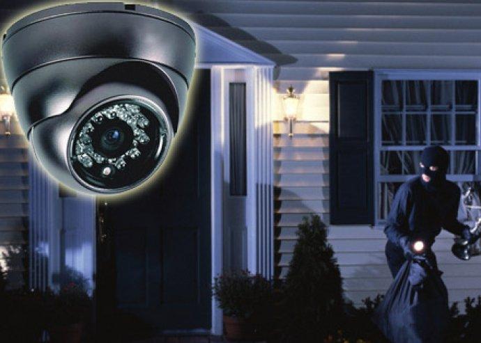 Légy biztonságban éjjel-nappal! SD kártyás megfigyelő kamera, VGA felbontással, éjjellátó funkcióval