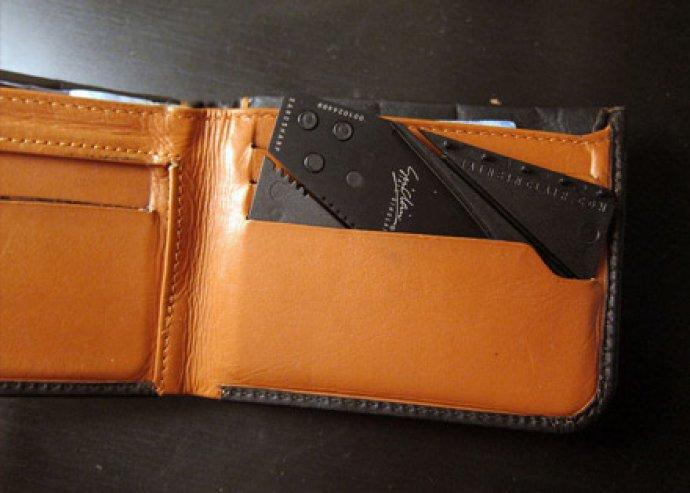 Biztonság, praktikusság és kényelem egyben! CardSharp hitelkártya alakú zsebkés