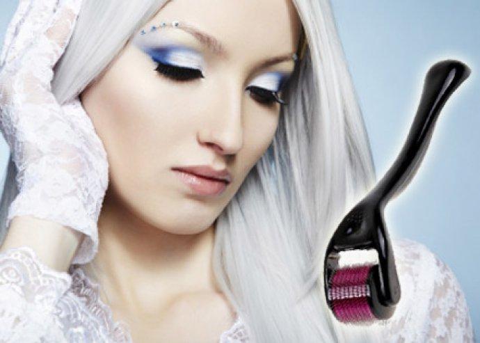 Professzionális szépségápolás - Dermaroller a gyönyörű, fiatalos bőrért, a ráncok, aknés hegek ellen