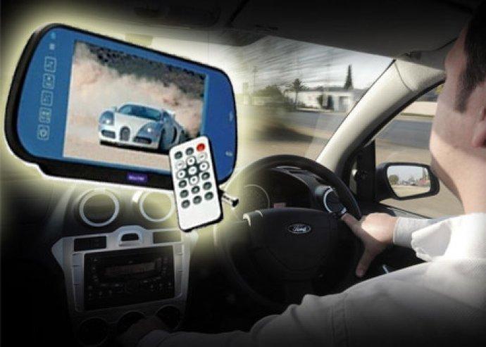 Többfunkciós autós multimédia lejátszó, tolatókamera és videó lejátszó egyben