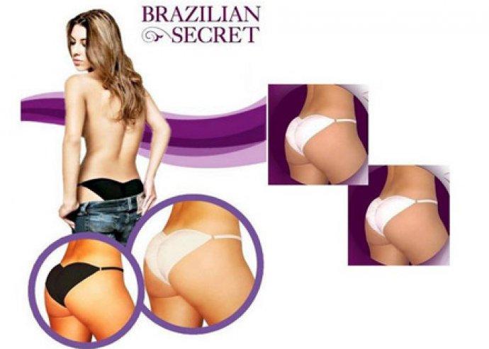 Feszes és kerek popsi - Brazilian Secret fenékformáló fehérnemű 2 színben, állítható pánttal, több méretben