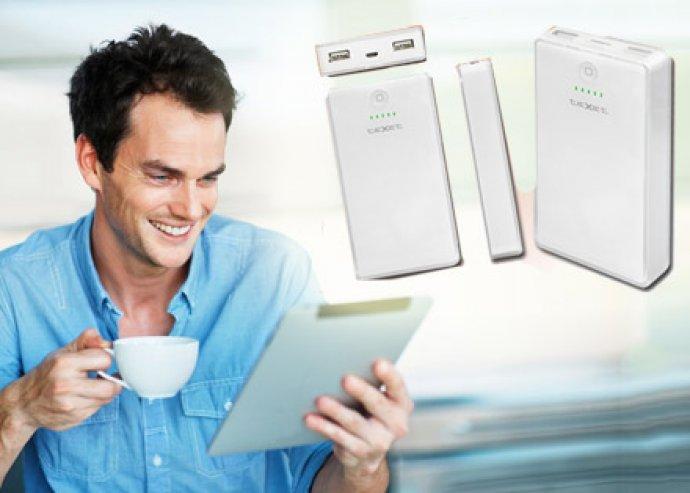Nincs több bosszankodás! Hordozható akkumulátor töltő, hogy sose merüljenek le készülékeid!