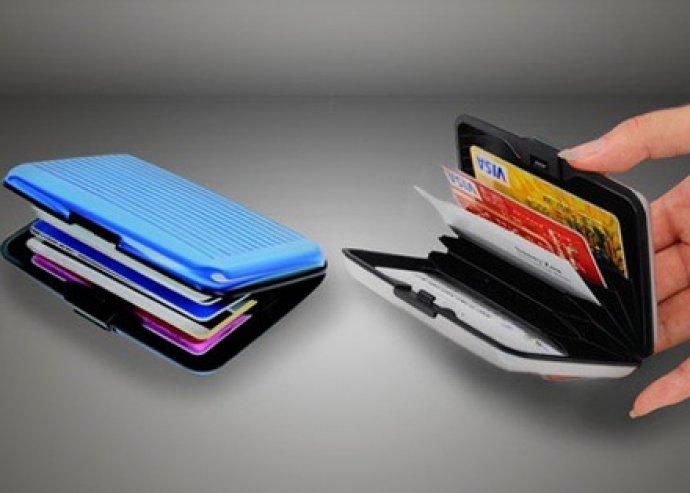 Tartsd biztonságban értékeid! Praktikus, zárható, ütés- és cseppálló Allu Wallet kártyatartó, több színben