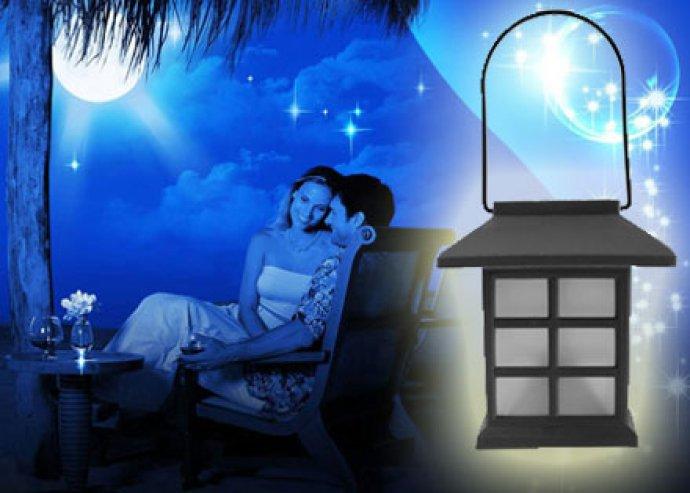 Japán stílusú napelemes lámpa