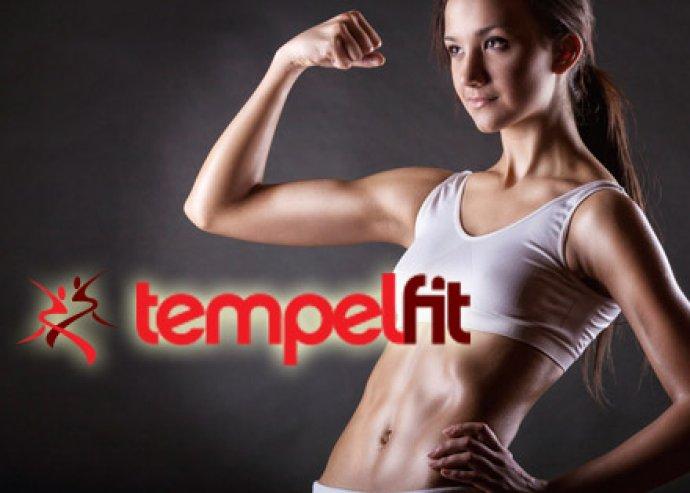 Profi alakformálás - 1 hónapos korlátlan fitnesz bérlet a Tempelfit kiválóan felszerelt edzőtermébe