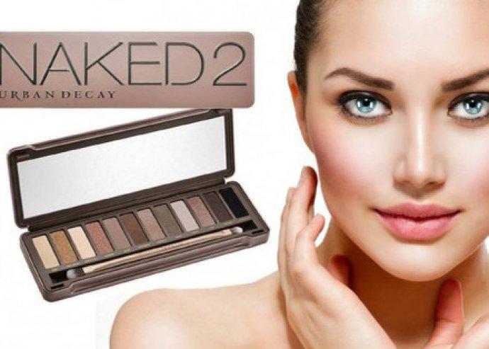 Válj igazi nővé! 12 színből álló Urban Decay Naked 2. szemhéjpaletta az elbűvölő és lehengerlő tekintetért