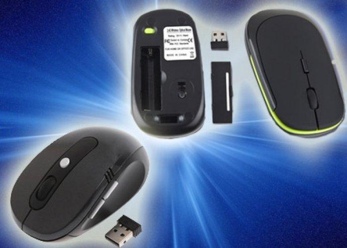 Vezeték nélküli egerek verhetetlen áron!  Válassz 2 db Slim Black mouse-t vagy Bluetooth mouse-t