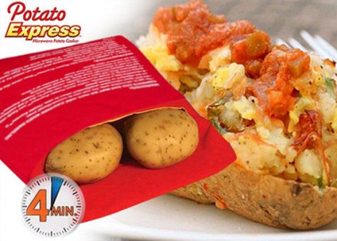 Forradalom a sült burgonya készítésében - egyszerűen és gyorsan használható Potato Express