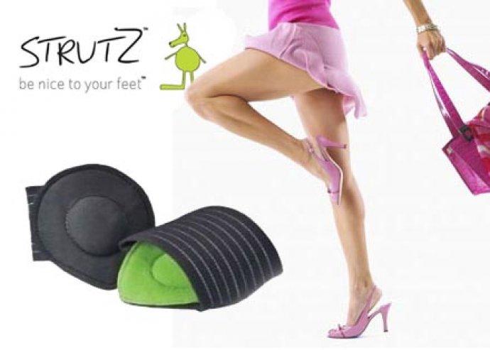 Antibakteriális felületű, testtartásjavító, kompressziós talpbetét a lábfájdalmak és a lúdtalp ellen