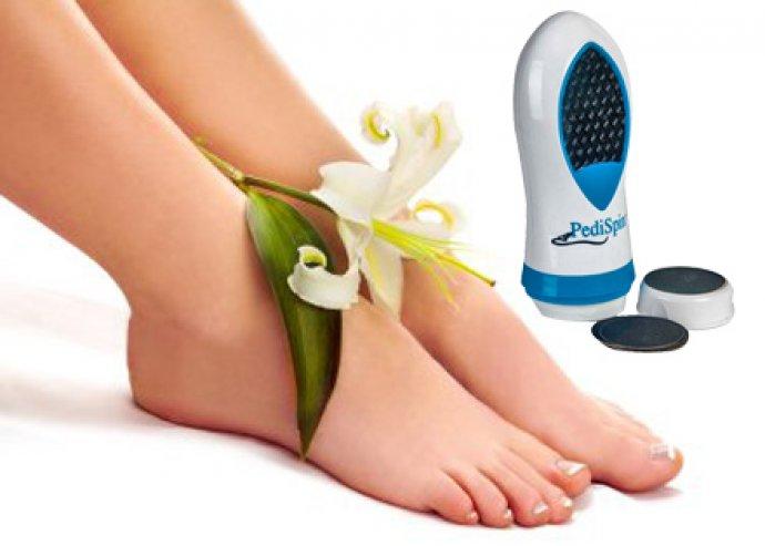 Kíméletes ápolás, gyönyörű lábak - 2 darab Pedi Spin lábápoló készlet rozsdamentes mikroreszelővel