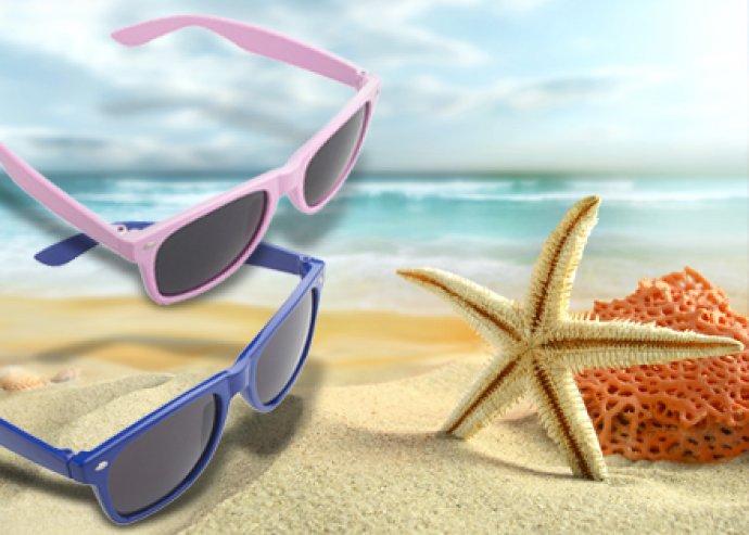 Fesztiválozásra fel! Divatos, unisex napszemüveg 8 különböző színben, hogy a hozzád illő stílusban viríts