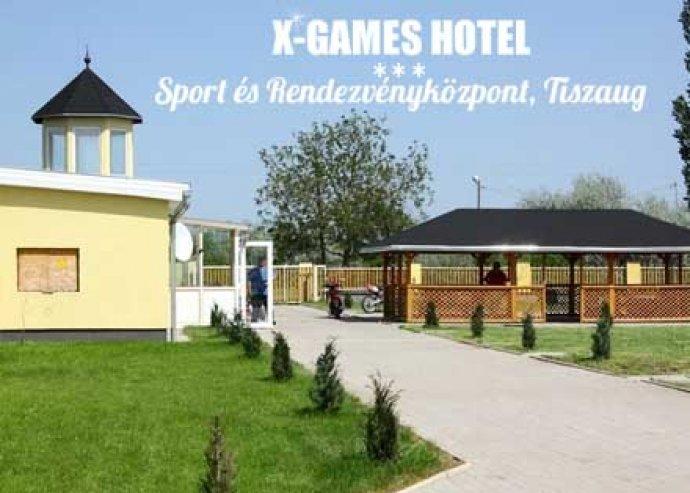 3 nap 2 főre félpanzióval az X-Games Hotelben, korlátlan wellness-szel, fitness-szel, vízibiciklizéssel
