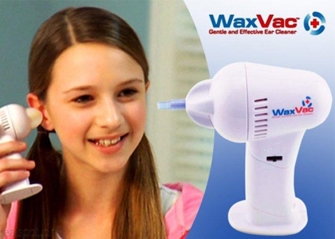 Fájdalommentes és hatékony fültisztítás az egész családnak! Wax vac - professzionális elektromos fültisztító