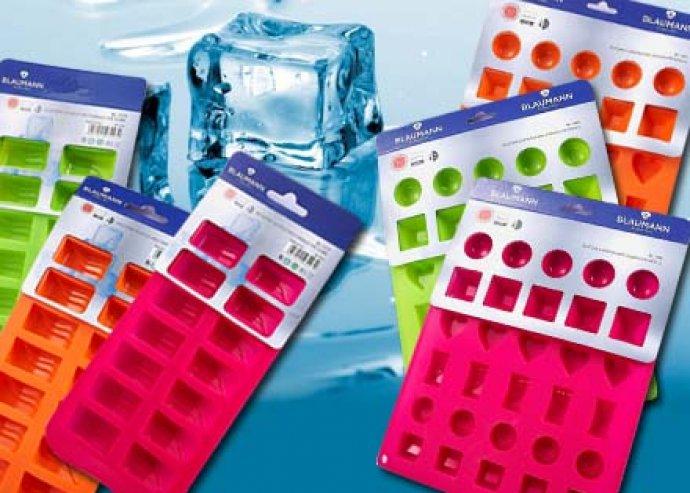 Készülj a nyárra, ezzel a színes, 16 vagy 36 jégkockakészítésére alkalmas  szilikonos formával!