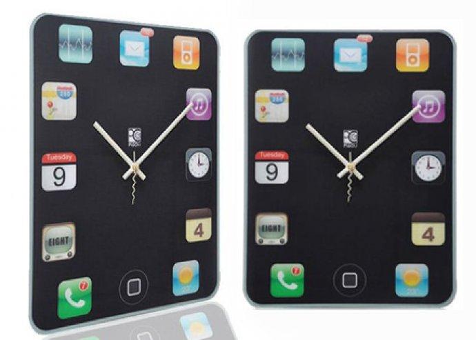 Iphone alakú falióra - okostelefonod most lakásod dísze is lehet!