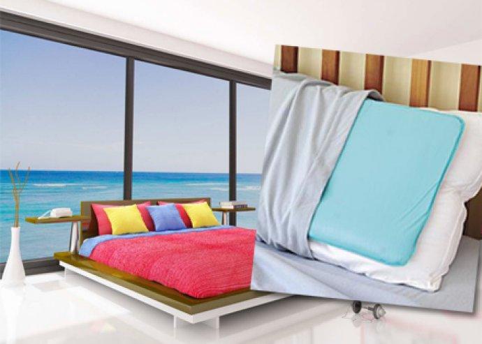 Kényelmes pihenést és kellemes alvást biztosító, különleges Chilling pillow hűsítő párna