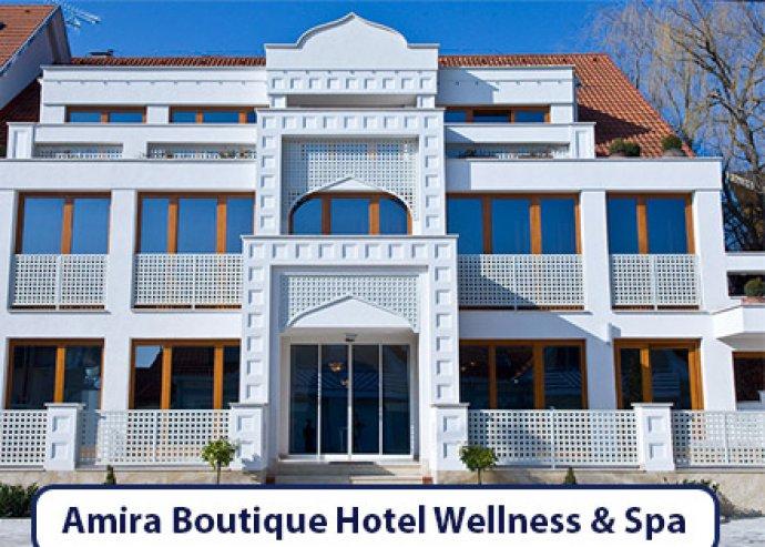 3 nap/2 éj 2 fő részére - nyaralás Hévízen, a négycsillagos Amira Boutique Hotelben!