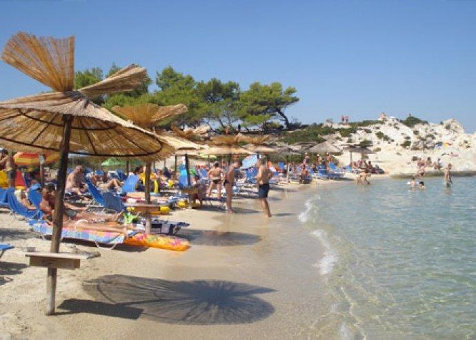 8 nap a görög tengerparton, Sartiban, 1 fő részére 3 fő részére apartmanban, utószezonban
