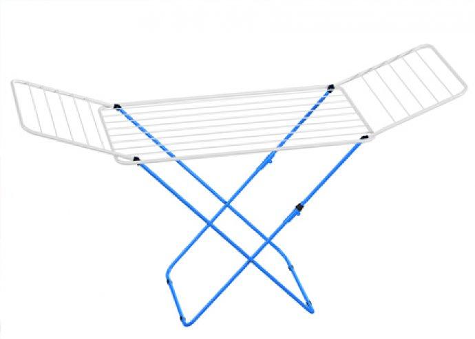 Praktikus, kétszárnyú vagy 3 emeletes ruhaszárító állvány, akár 27 méteres szárítási kapacitással