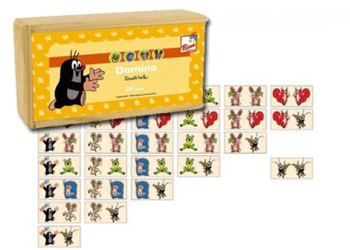 Móka és kacagás - Kisvakondos dominó vagy memóriakártya fából, kicsiknek és nagyoknak egyaránt