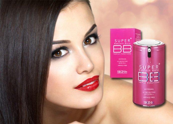 Egyedülálló összetételű, ránctalanító, bőrápoló, hidratáló, 40 g-os Skin 79 Super+ BB krém pink