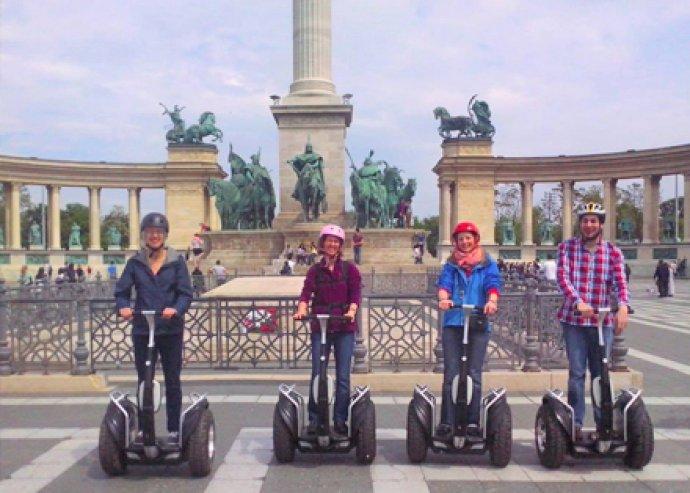 1,5 órás Segway túra 1 fő részére betanítással a belvárosban – ismerd meg Budapestet egy új szemszögből!