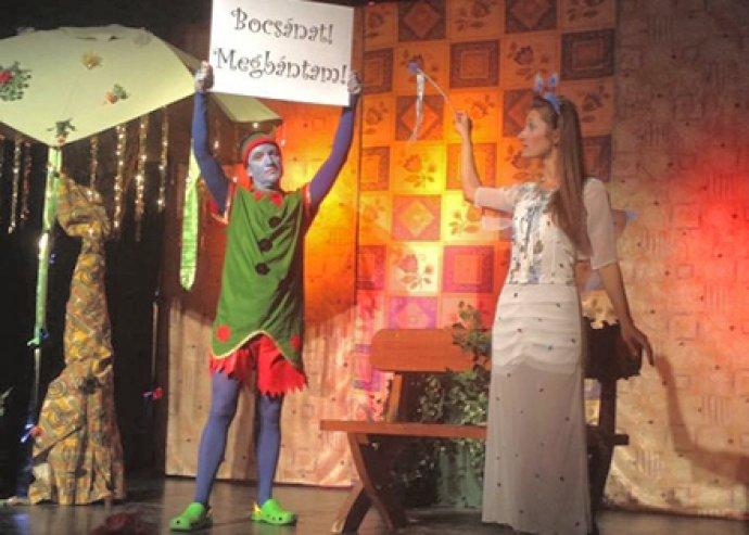 Játék, móka és kacagás! 1 főre szóló belépő, a Nyári Tündérkert c. zenés mesejátékra
