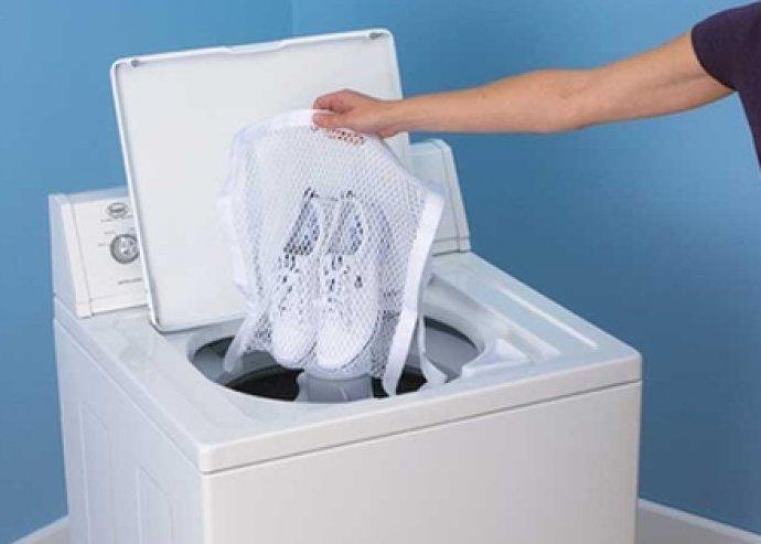 Mosó és szárító zsák, megvédi a ruhaneműket a károsodástól a mosás és szárítás során
