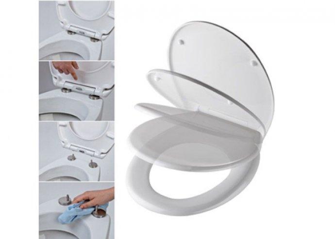 WC ülőkék, WC ülőke lecsapódásgátlóval vagy gyerek-felnőtt kombi WC ülőke, antibakteriális felület