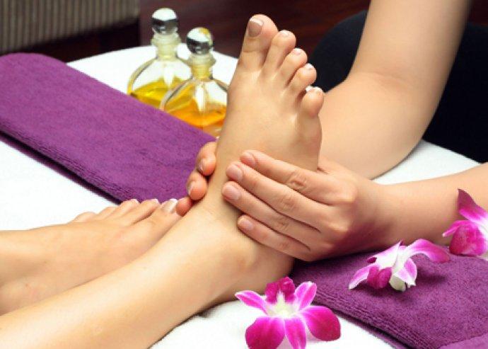 60 perces aromaterápiás, fájdalomcsillapító, relaxáló vagy méregtelenítő testmasszázs és 30 perc talpmasszázs!