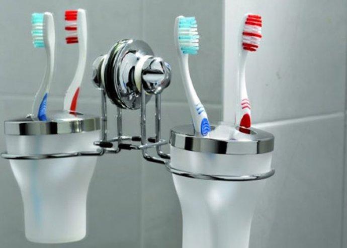 Rozsdamentes acél fürdőszobai, konyhai tartók, vákuumos szappan- és szivacstartó, fogkefetartó, törölközőtartó
