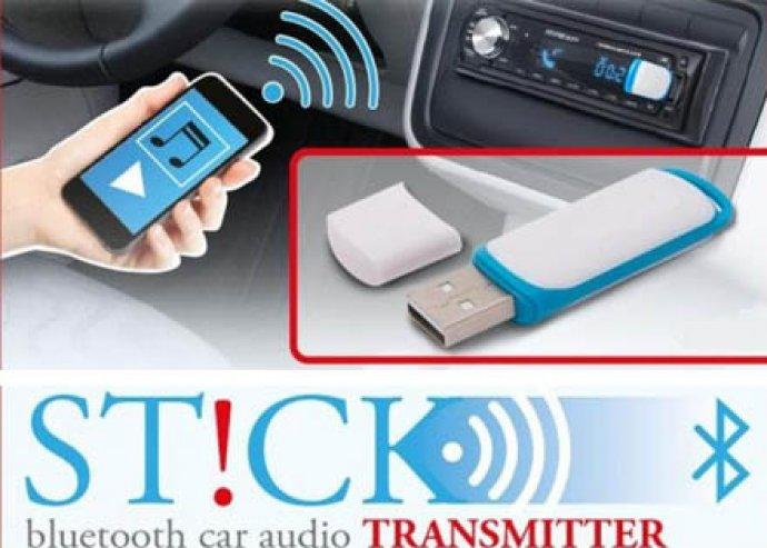 Bluetooth audio átjátszó stick, bármilyen hanganyag továbbítása bluetooth kapcsolattal USB eszközön