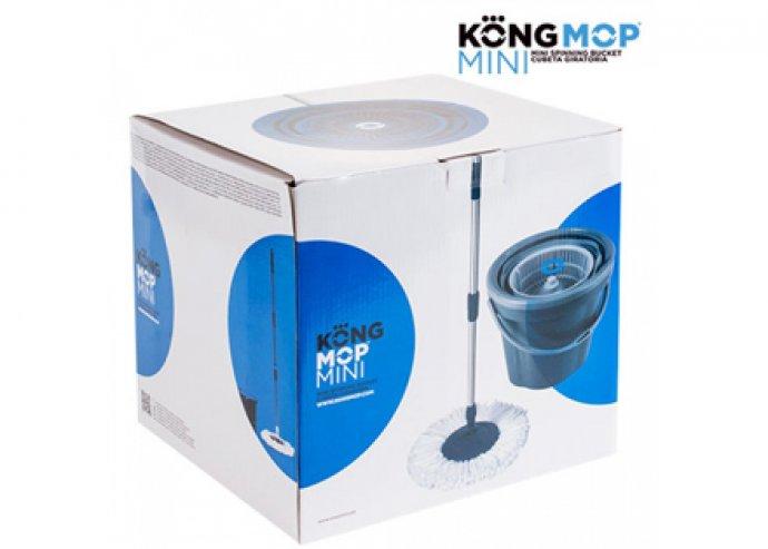 Kong Mop forgó felmosó és vödör, belsejében beépített forgó rendszerrel